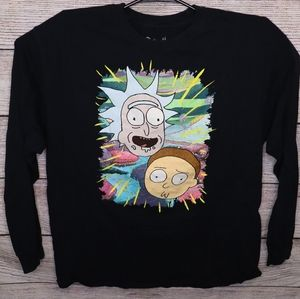 Adult Swim Rick and Morty Long Sleeve XL